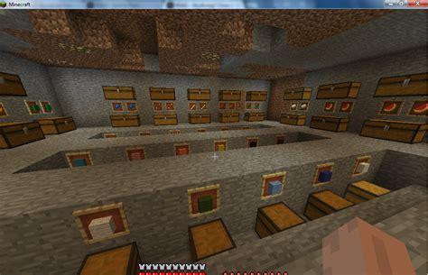 Minecraft Storage Room Design Ideas by Storage Room Screenshots Show Your Creation
