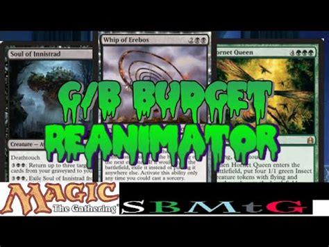 Mtg Reanimator Deck Budget mtg standard deck tech budget g b reanimator in dtk