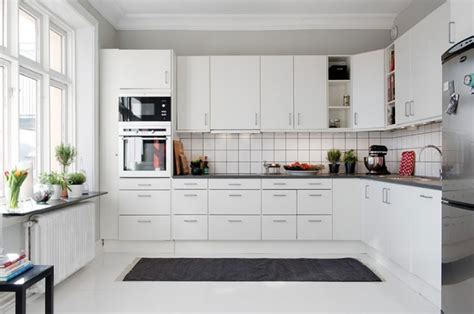contemporary white kitchen beyaz mutfak dekorasyonu dekor 246 neri 2550