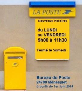 bureau de poste tours horaires bureau de poste 28 images horaires du bureau