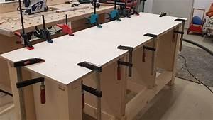 Werkstatt Selber Bauen : diy werkstatt tisch einfache werkbank selber bauen youtube ~ Orissabook.com Haus und Dekorationen