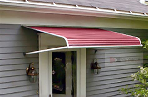 the door awnings aluminum door canopy aluminum awnings for out swinging