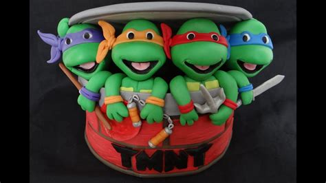 fondant ninja turtles youtube