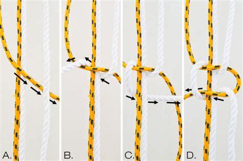 Make Your Own Rope Hammock by Make It Modern Diy Two Tone Sail Rope Hammock Design Milk