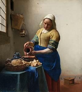 Vase with Irises and The Milkmaid: Van Gogh and Vermeer