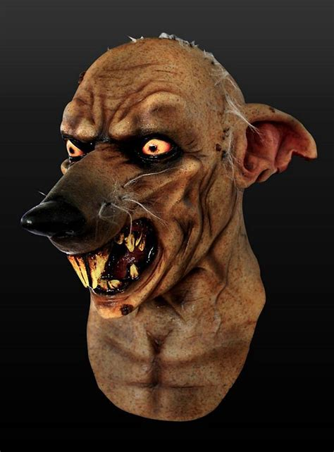 mutant rat latex full mask maskworldcom