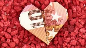 Herz Falten Origami : geld herz falten anleitung um einfach ein herz aus geld zu basteln youtube ~ Eleganceandgraceweddings.com Haus und Dekorationen