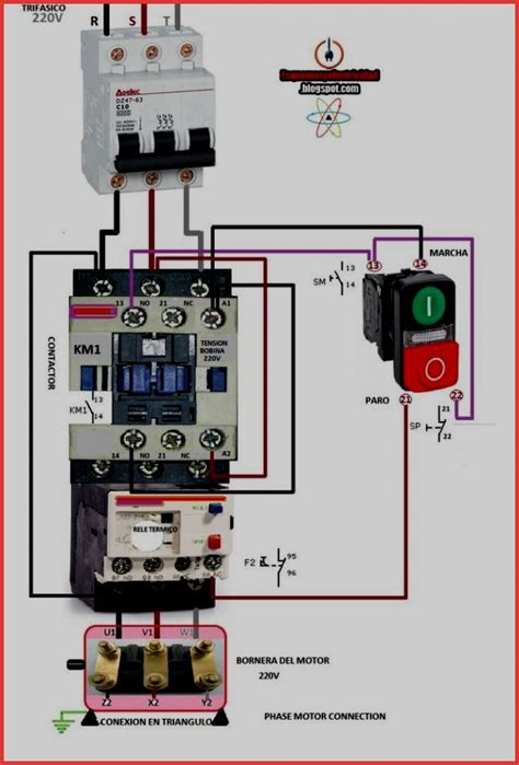 contactor schematic diagram comprandofacil co