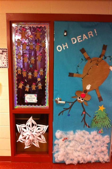 cute classroom door idea  dear christmas