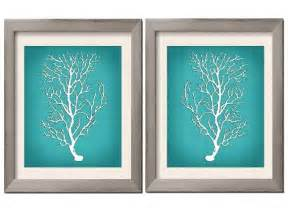 beach house decor teal wall art teal art teal white