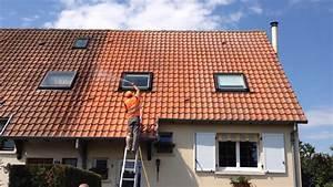 Traitement Anti Mousse : traitement anti mousse toiture youtube ~ Farleysfitness.com Idées de Décoration