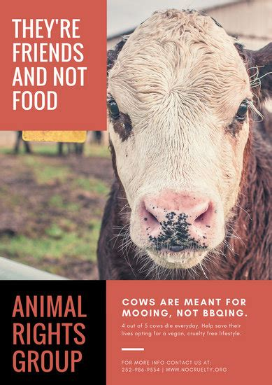 customize  vegetarian vegan poster templates