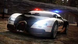 The coolest police car in the world, the Bugatti Veyron ...