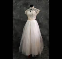 Vintage 40s Wedding Dress