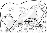 Mountain Coloring Printable Coloringpagebook Advertisement sketch template
