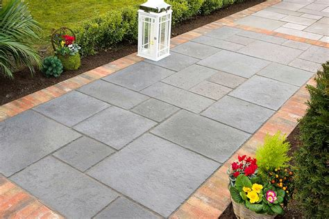 landscaping tiles garden flooring ideas cheap tile laying patterns style and inspiration