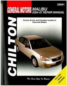 Chilton Chevrolet Malibu 2004