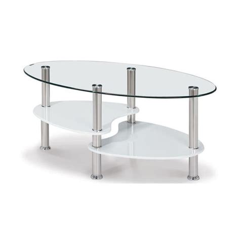table basse en verre tremp 233 alix achat vente table