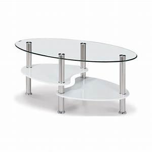 Table Basse Ovale Ikea : table basse ovale en verre le bois chez vous ~ Melissatoandfro.com Idées de Décoration