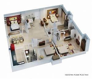 Isometric, Floor, Plan, Render, In, 3d, By, Pradipta, Seth, At, Coroflot, Com