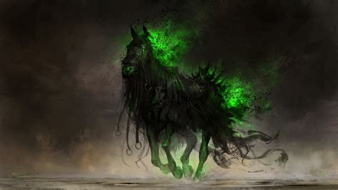 digital art drawing fantasy art horse deviantart