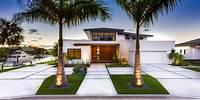 trending modern garden design Modern Home Exterior Trends, Designs and Ideas 2018 / 2019 ...