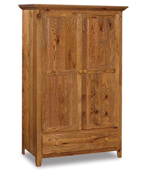 Shaker Wardrobe Armoire  Amish Direct Furniture