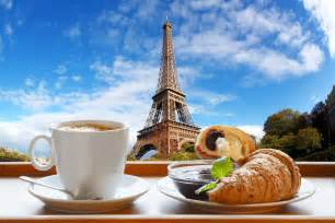 eiffel tower table coffee with croissants in jigsaw puzzle in puzzle of