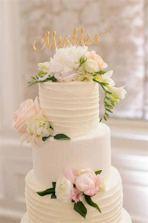 buttercream wedding cake ideas  pinterest