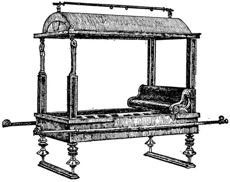 Ancient Roman Furniture History by A Roman Litter Clipart Etc