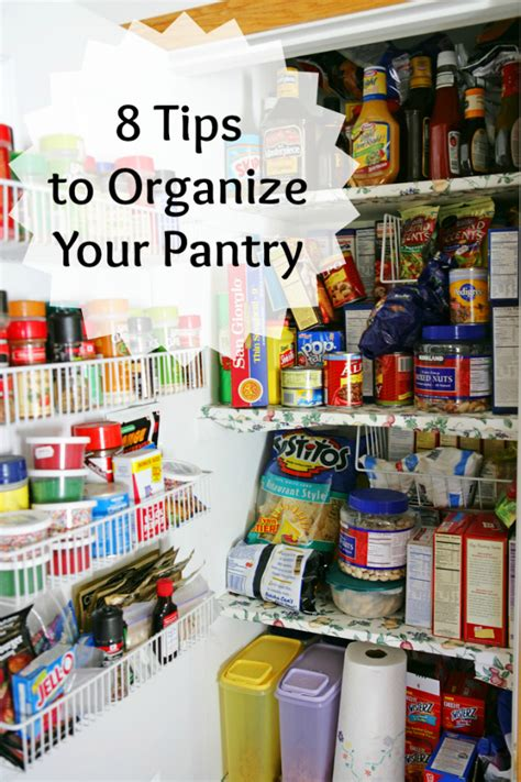 8 Tips And Tricks To Organize Your Pantry Blissfully