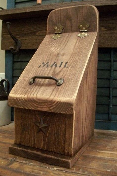 simple wooden mailbox plans woodworking projects plans
