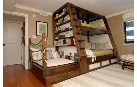 Bunk Bed For Kids' Room By Del Mar Mock Fireplace Mantel Hidden Tv Over Electric Costco Gas Log Insert For Osburn Bookshelf Led Fireplaces Myst
