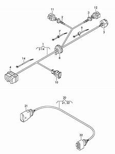 Volkswagen Tiguan Harness For Trailer Hitch Connection