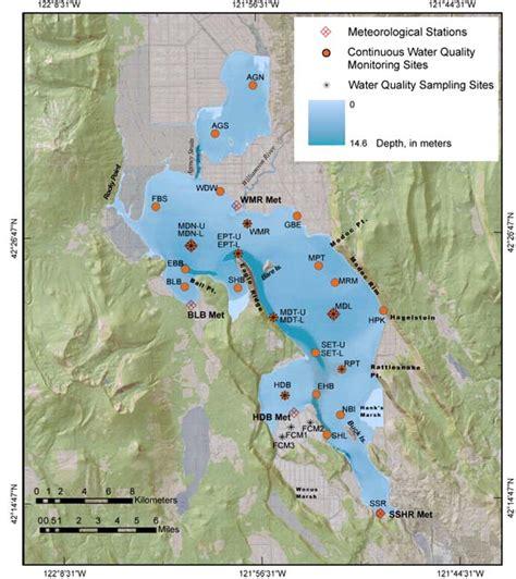 USGS Upper Klamath Lake Long-Term Water Quality Monitoring ...