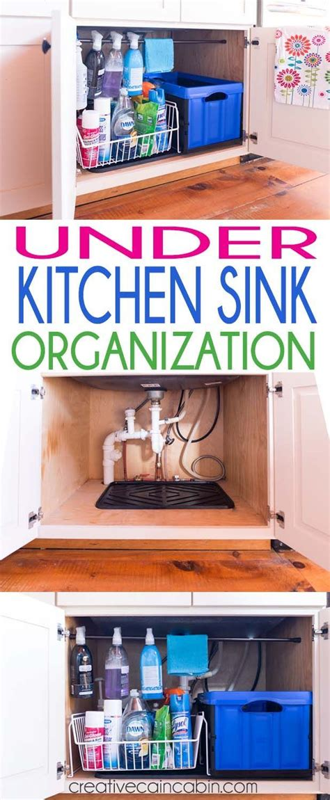 Kitchen Organizing Tricks by Kitchen Sink Organization Home Kitchen Sink