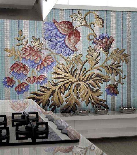mosaique murale cuisine carrelage mosaïque cuisine idées de crédence déco murale
