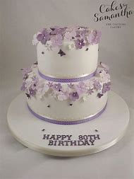2 Tier Birthday Cake Designs