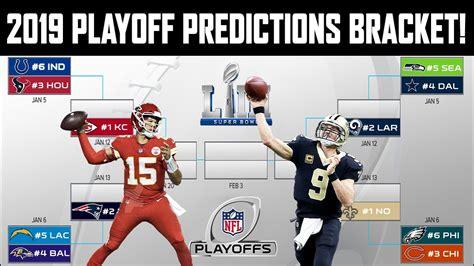 2019 Nfl Playoff Predictions! Full Bracket! My Superbowl