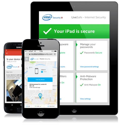 Mcafee Mobile Support by Protect Mobile Device With Mcafee Livesafe Mcafee Support