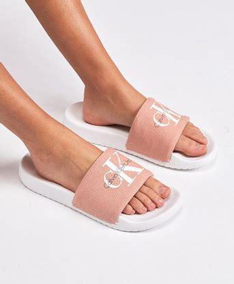 women s slides calvin klein slides more footasylum