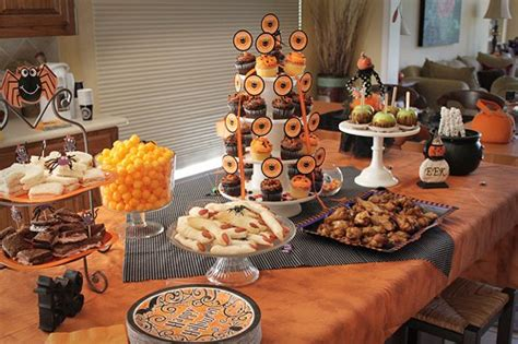 halloween party food ideas  party printables