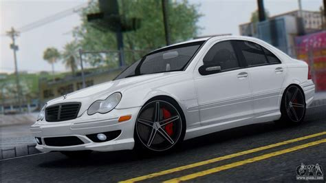 Mercedes BenzCar : Mercedes-benz C32 Vossen For Gta San Andreas