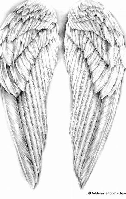 Tattoo Wings Angel Wing Tattoos Down Going