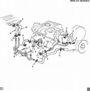 Pontiac Firebird Hoses  U0026 Pipes  Heater V6