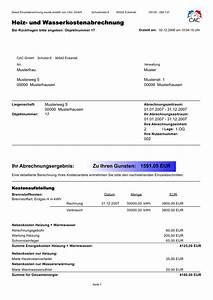 Rechnung Haushaltsnahe Dienstleistungen Muster : cac compact abrechnung center f r wasser w rme und ~ Themetempest.com Abrechnung