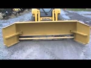New 8 U0026 39  To 10 U0026 39  Adjustable Snow Pusher Box Plow For Bobcat