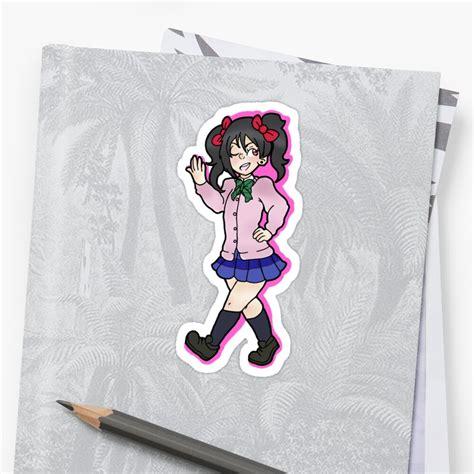 nico yazawa sticker by umisoup redbubble