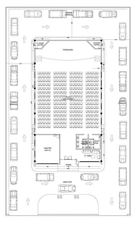 desain gedung pertemuan multidesain arsitek