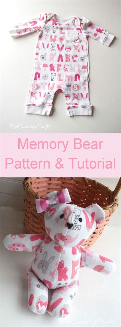 Sleepers Free by Pacountrycrafts Baby Clothes Memory Pattern And